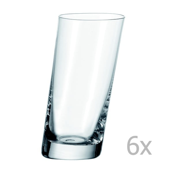 Sada 6 sklenic na long drink LEONARDO Pisa, 370 ml