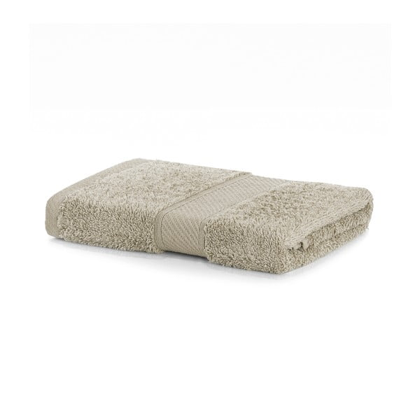 Béžový uterák DecoKing Bamby, 50 × 100 cm