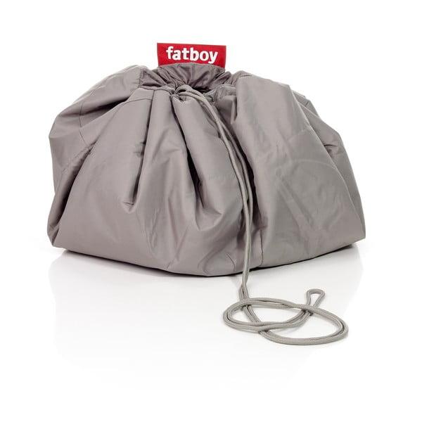 Fatboy pikniková deka Knapsack, šedý