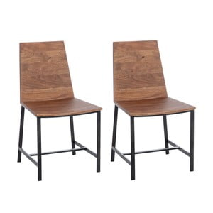 Sada 2 židlí Jules Natural