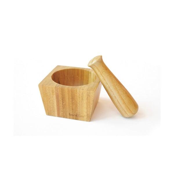 Bambusový mažiar Bambum Cotta