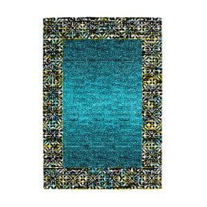 Koberec Aztec, turquoise, 80x150 cm