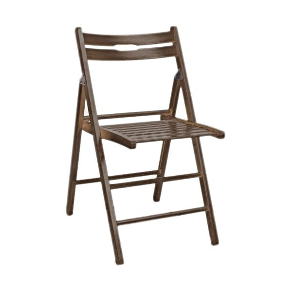 Skládací židle Smart, ořech