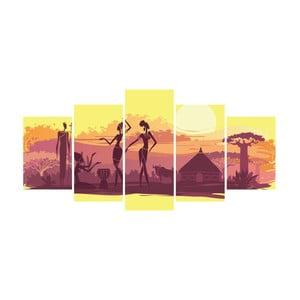 Vícedílný obraz La Maison Des Couleurs Africa