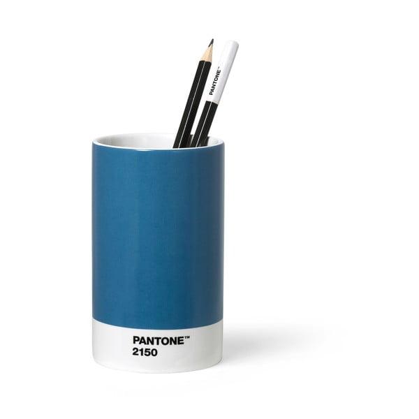Niebieski ceramiczny kubek na ołówki Pantone