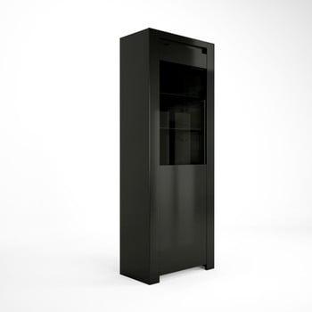Vitrină Artemob Orlando, 68 x 180 cm, negru de la Artemob