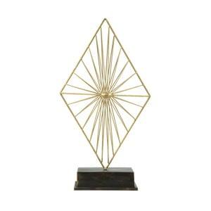 Dekorativní soška ze železa ve zlaté barvě Mauro Ferretti Piry