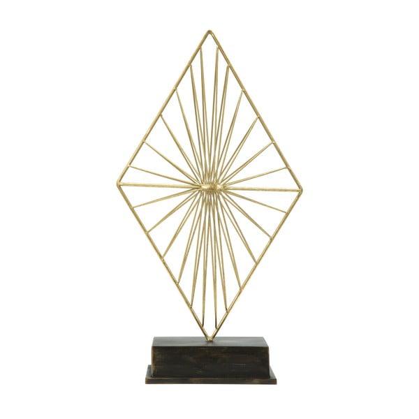 Piry aranyszínű dekoráció vasból - Mauro Ferretti
