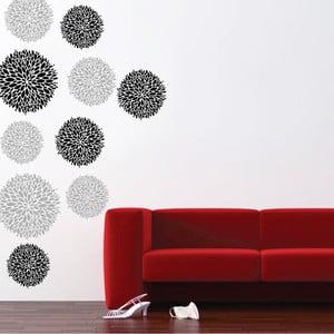 Samolepka na stěnu Květy, 60x90 cm