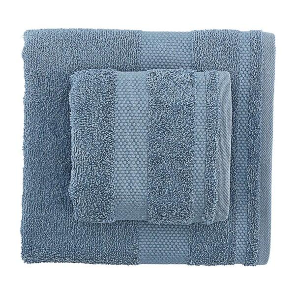 Sada 2 modrých ručníků Tommy