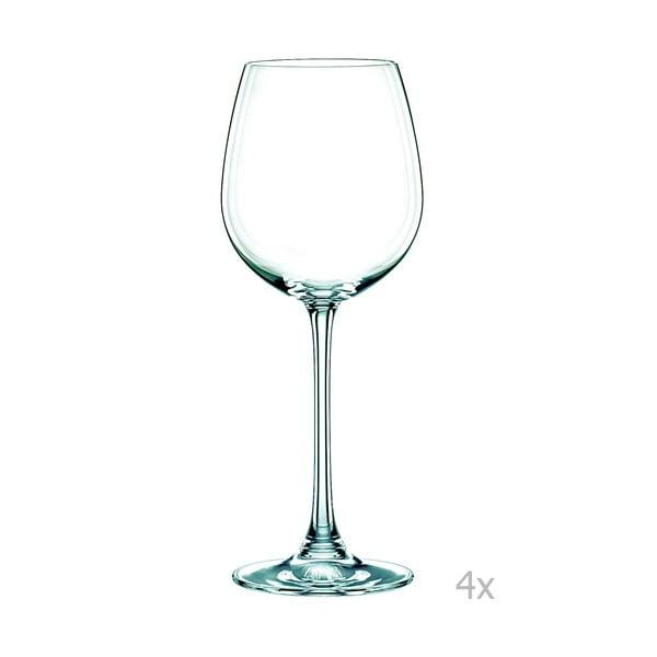 Zestaw 4 kieliszków do białego wina ze szkła kryształowego Nachtmann Vivendi Premium White Wine Set, 474 ml