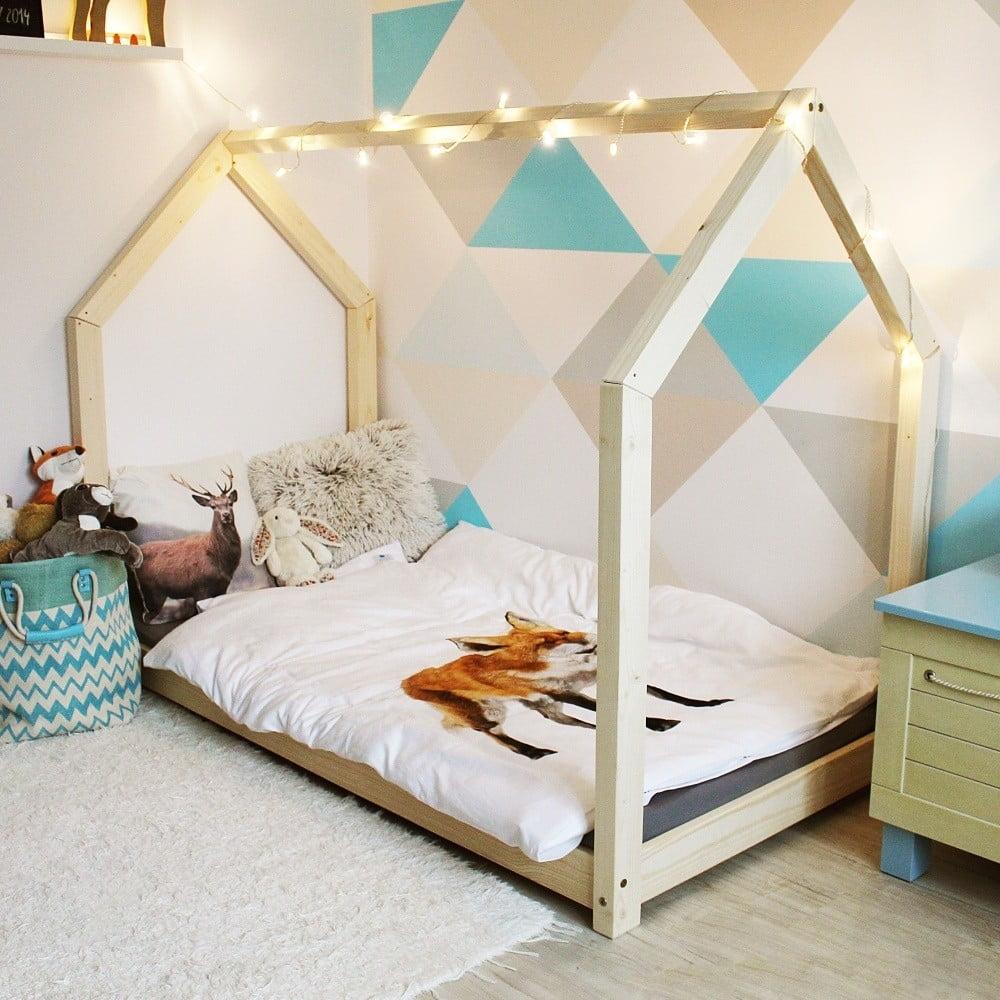 Dětská postel z borovicového dřeva Benlemi Tery, 90 x 200 cm