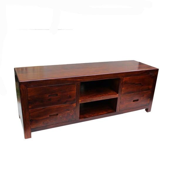 Televizní stolek z palisandru Indigodecor, 150x55 cm