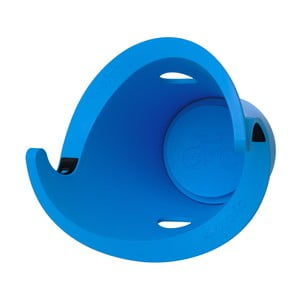 Designový držák na kolo Solo, modrý