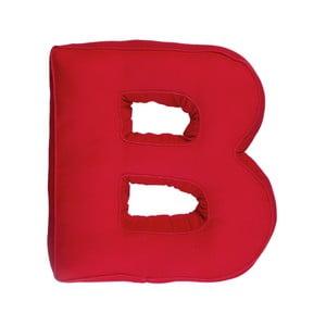 Látkový polštář B, červený