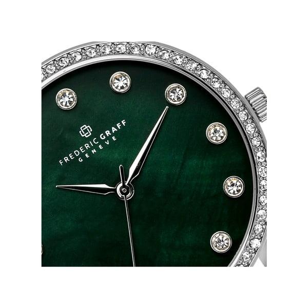 Dámské hodinky s páskem ve stříbrné barvě Frederic Graff Lychee