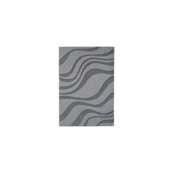 Vlněný koberec Aero Pewter, 120x170 cm
