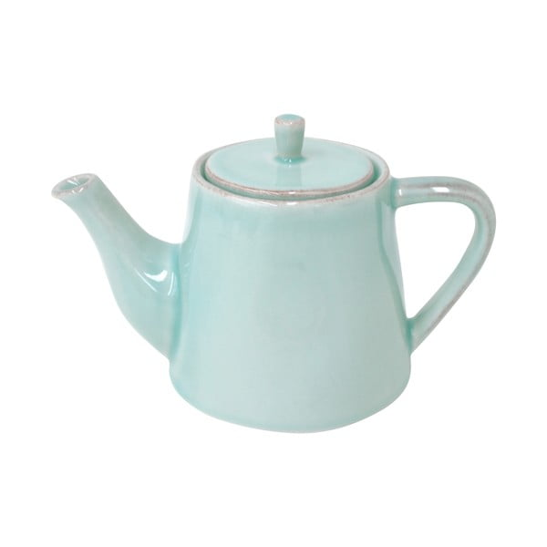 Keramická konvice na čaj Lisa 500 ml, tyrkysová