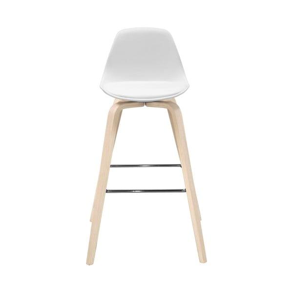 Bílá barová židle Actona Zaki