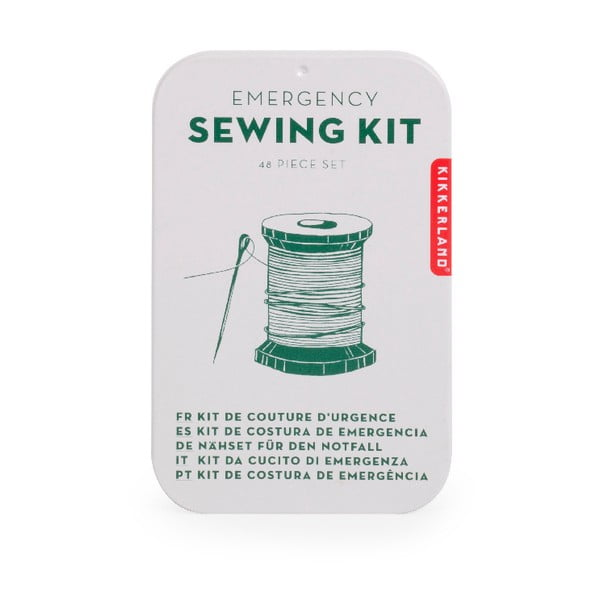 Set na šití Kikkerland Emergency Sewing