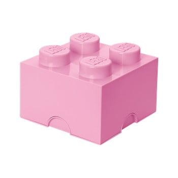 Cutie depozitare LEGO®, roz deschis imagine
