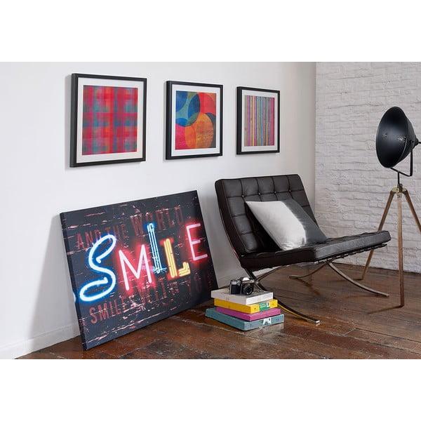 Tablou Graham & Brown Neon Stripe, 50 x 50 cm