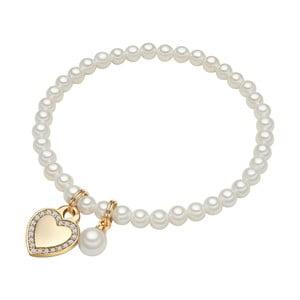 Brățară cu perlă albă ⌀8 mm Perldesse Rot, lungime17cm