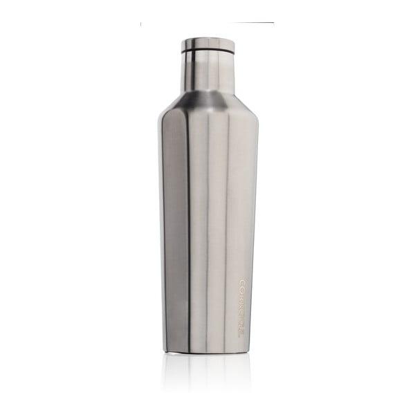 Stříbrná cestovní termolahev Corkcicle Canteen, 470 ml