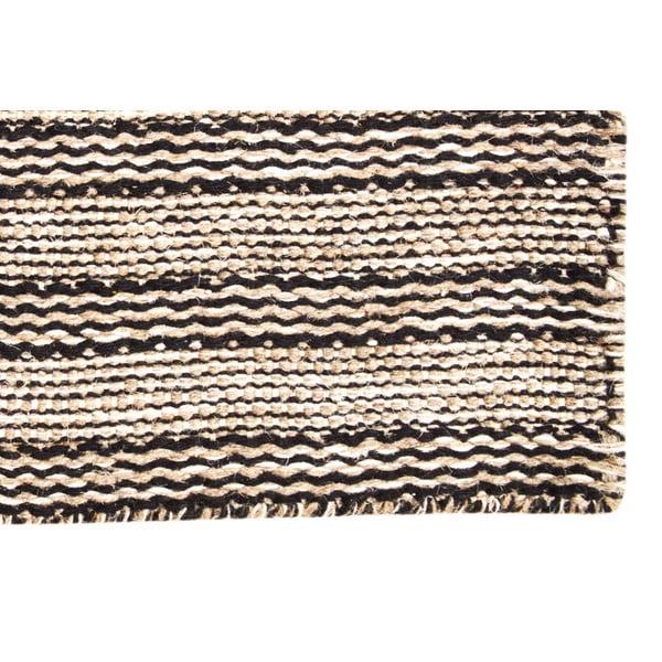 Ručně tkaný koberec Brown Ornaments Kilim, 110x155 cm