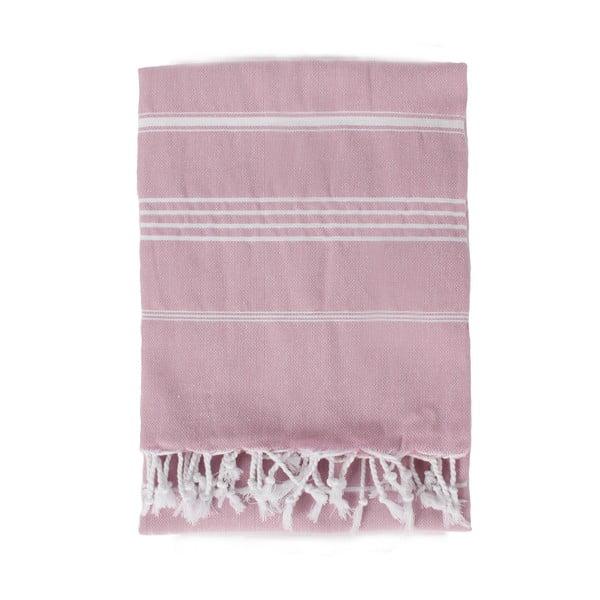 Ručník Ibiza 180 x 100 cm, Antique Pink