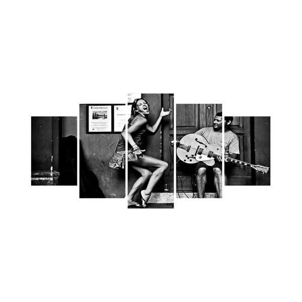 Vícedílný obraz Black&White no. 12, 100x50 cm