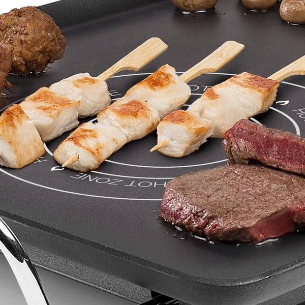 Plită electrică Princess Table Chef Hot-Zone, intrare 2500W, negru