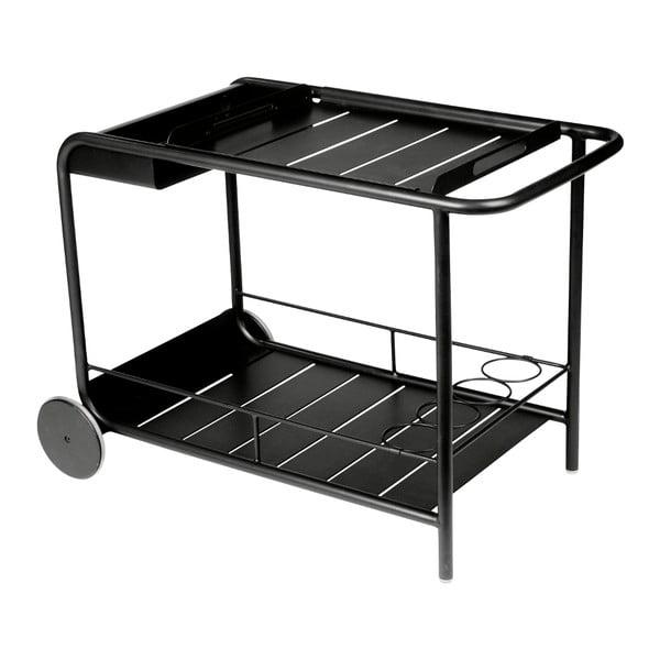 Černý servírovací stolek Fermob Luxembourg