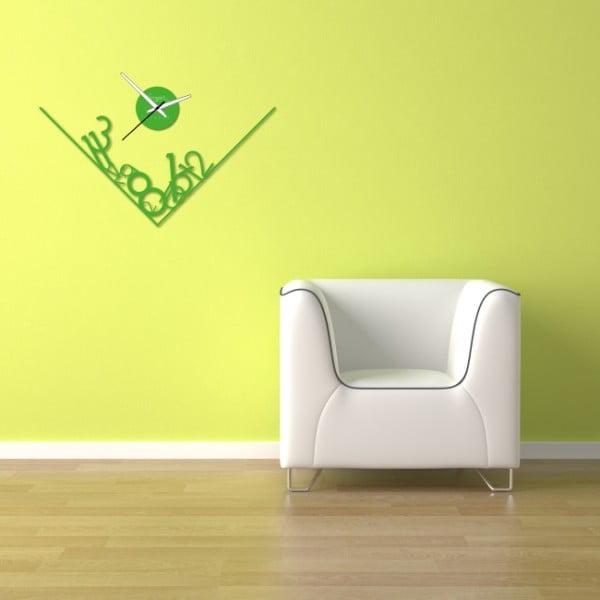 Nástěnné hodiny Green Get Lost