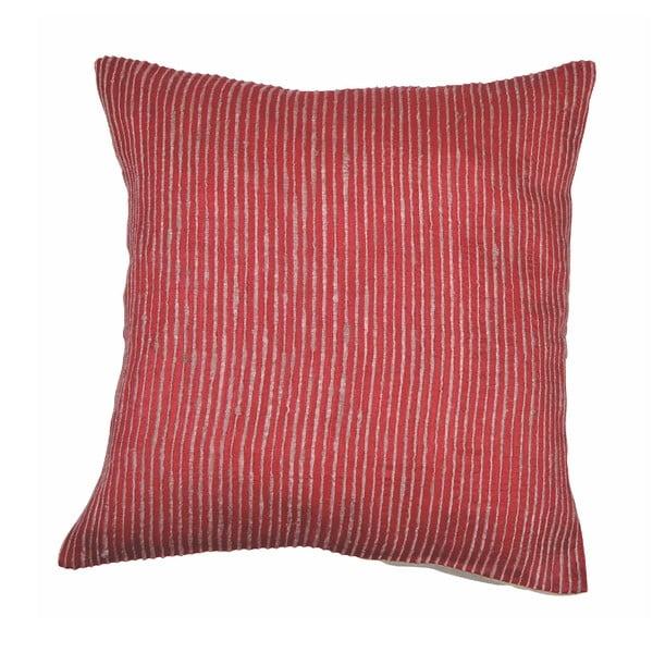 Rimboo piros párnahuzat, 45 x 45 cm - Tiseco Home Studio