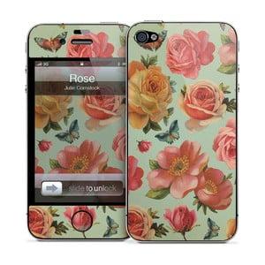 Samolepka na iPhone 4/4S, Rose