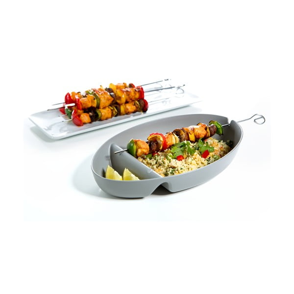Mísa na barbecue, tyrkysová, 6 kusů