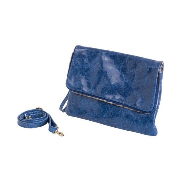 Modrá kabelka z pravé kůže Andrea Cardone Fiore