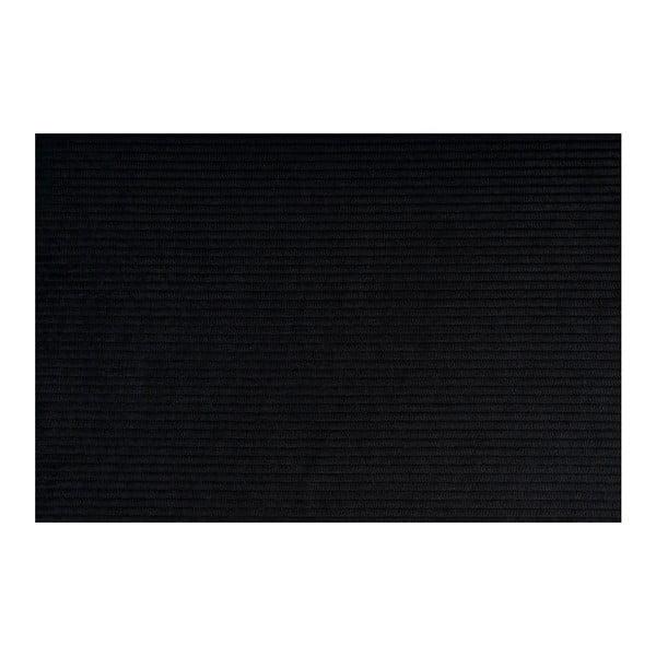 Scaun pentru bar Zuiver Ridge Kink Rib, negru