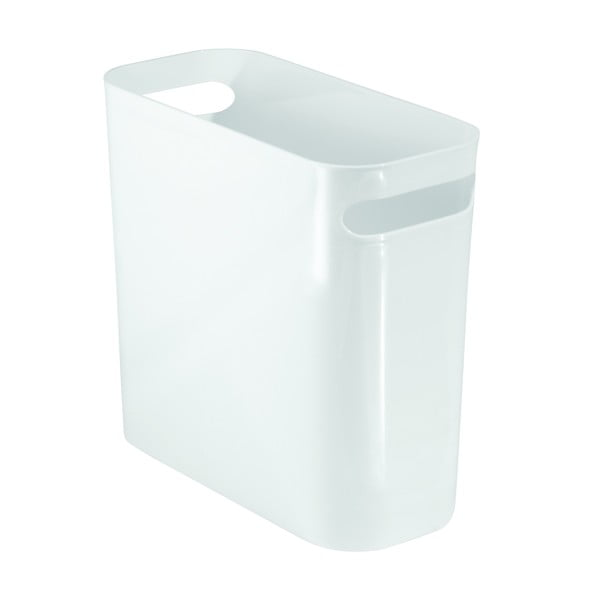 Coș depozitare iDesign Una, 28 x 16 cm, alb