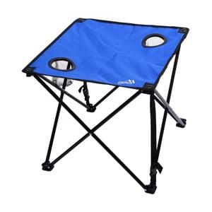 Modrý skládací kempingový stůl Cattara Lisboa