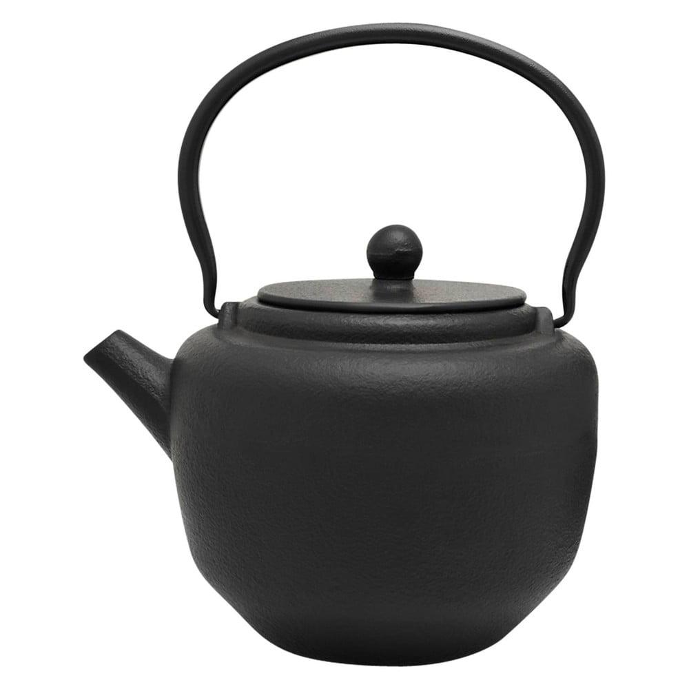 Černá konvička na čaj Bredemeijer Pucheng, 1,3 l
