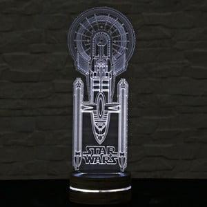 3D stolní lampa Star Wars