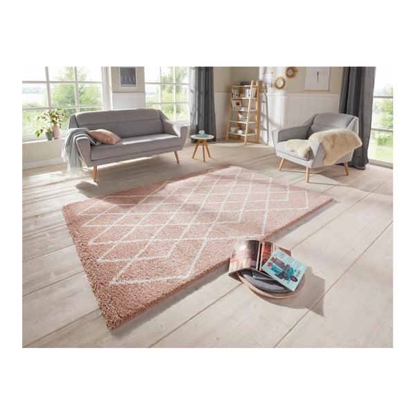 Růžový koberec Elle Decor Passion Bron, 120 x 170 cm