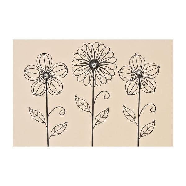 Sada 3 zahradních dekorací Garden Flower