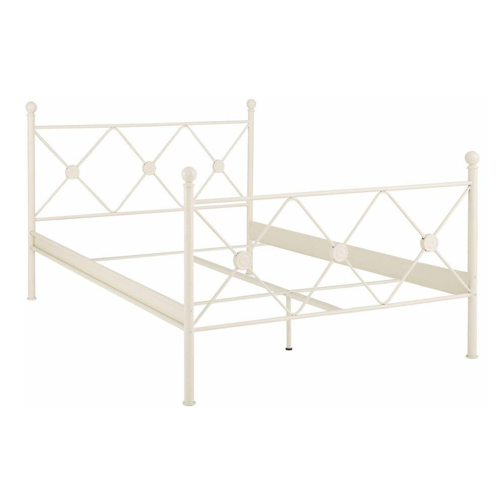 605e61bd1de0 Kovova postel bila 140 200 cm - Cochces.cz