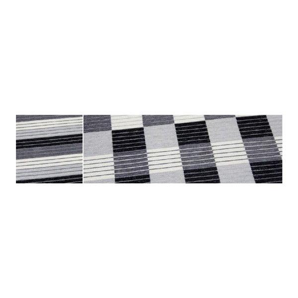 Koberec Square Black, 160x230 cm