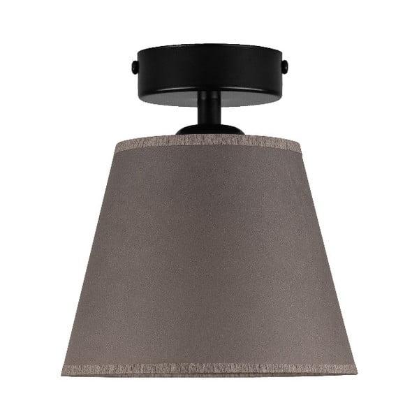 Tmavě béžové stropní svítidlo Sotto Luce IRO Parchment, ⌀16cm