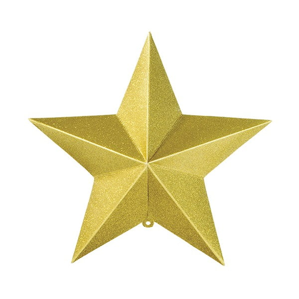 Sada tří papírových závěsných dekorací ve tvaru hvězd Talking Tables