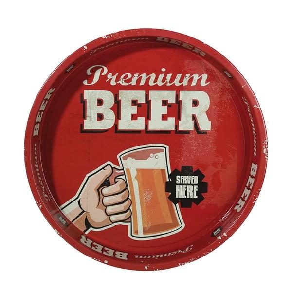Kulatý podnos Beer